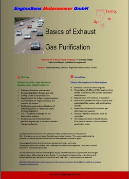 Basics of Exhaust Gas Aftertreatment
