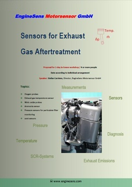Sensors for Exhaust Gas Aftertreatment